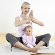 Yoga para bebês e crianças